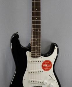 Fender Squier Affinity Strat RW Black 3
