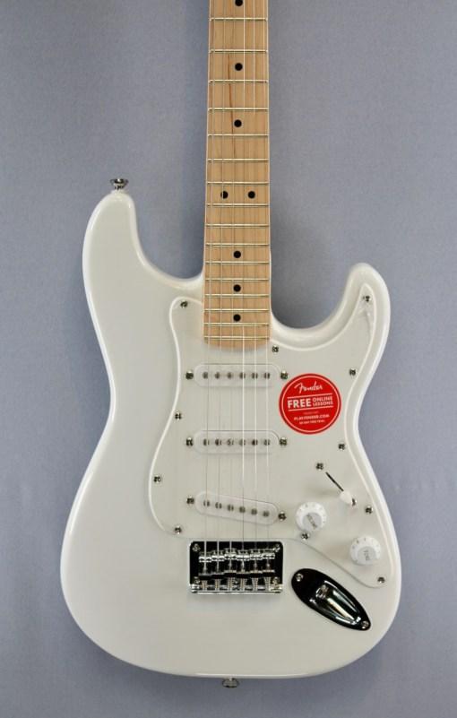 Fender Squier FSR Mini Strat Weiß 2