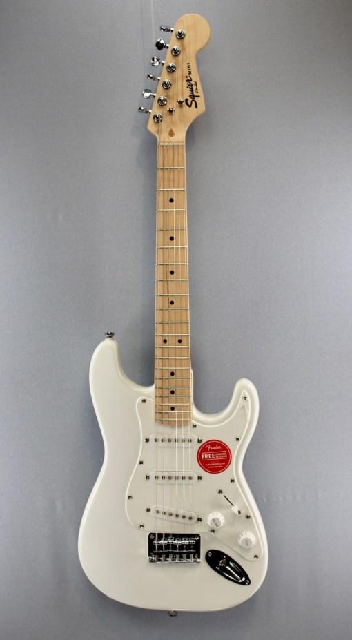 Fender Squier FSR Mini Strat Weiß 1