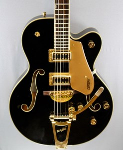 Gretsch G5420TG Limited Edition Electromatic Hollow Body Bigsby Black 4