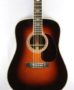 Martin D-41 Sunburst Western Gitarre 9