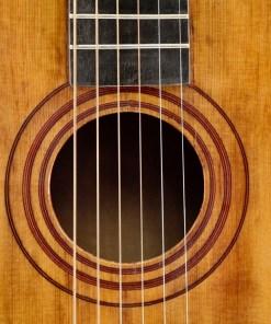 Alte Parlour Gitarre 9