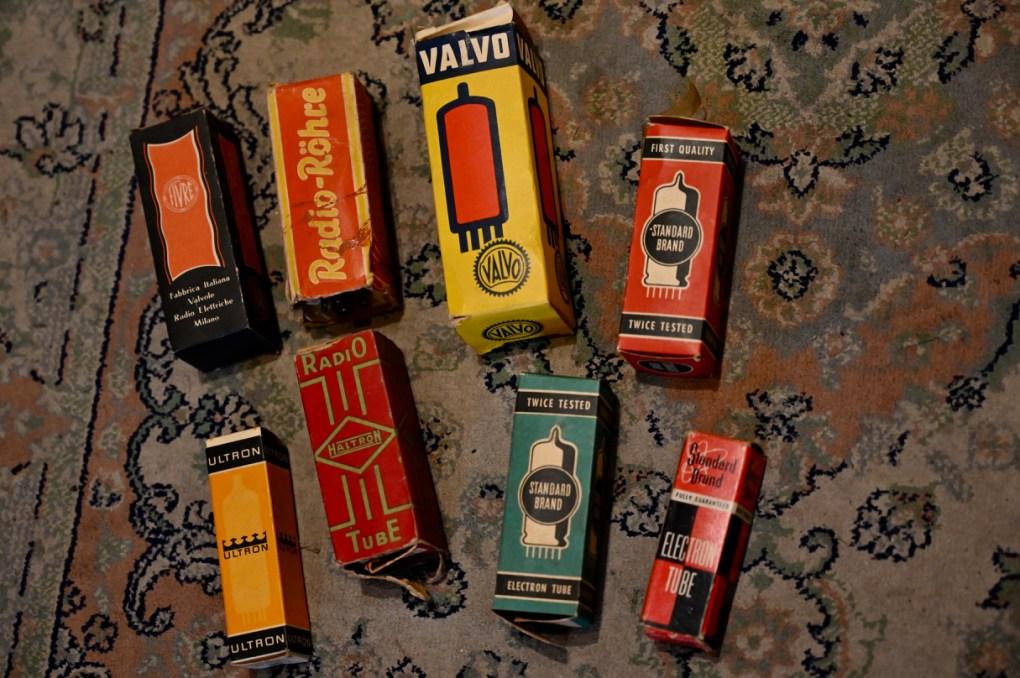 Vintage Röhren