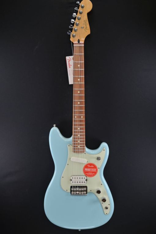 Daphne Blue Fender Duo Sonic