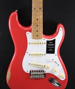 Fender 50 Strat Road Worn Fiesta Red