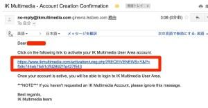 IK Multimedia  Account Creation Confirmation  edenlag gmail com  Gmail