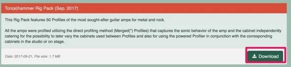Kemper Amps Downloads