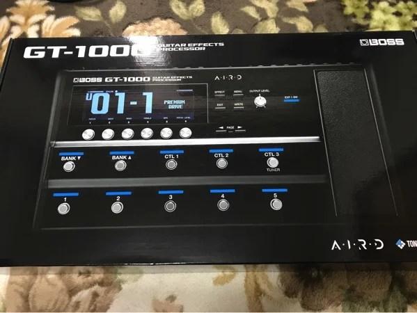 【レビュー】BOSSのギター用マルチエフェクター「GT-1000 」を弾いてみた9