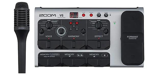 ZOOM ( ズーム ) / V6 ボーカルエフェクター