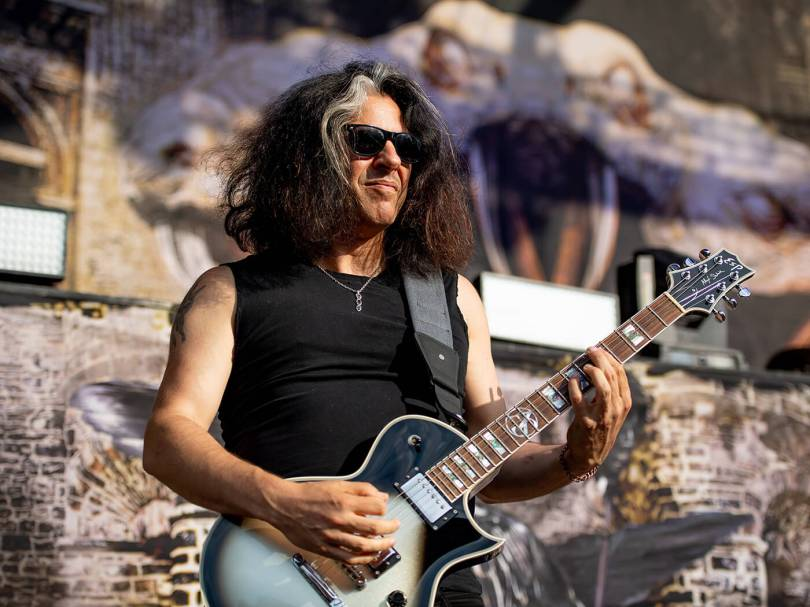 """Learn not to attach your personal sense of value or self-worth to your  playing"""": Alex Skolnick   Guitar.com   All Things Guitar"""