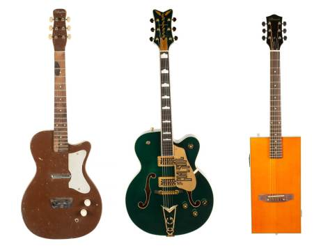 Gretsch at Julien's Auctions