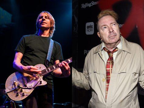 Mark Arm and John Lydon
