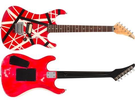Eddie Van Halen Striker/Ripley Frankenstrat