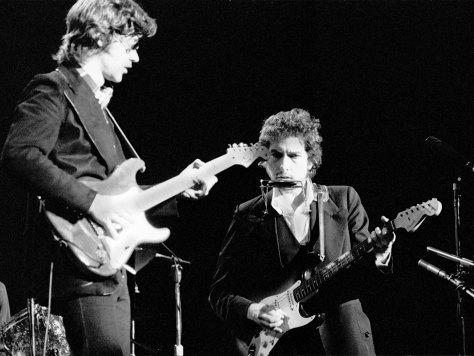 Robbie Robertson and Bob Dylan