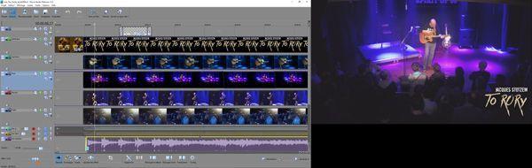 Mon année 2015: Making of vidéos concert au Spirit of 66