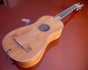 Guitare Stradivarius 'Sabionari' 1679