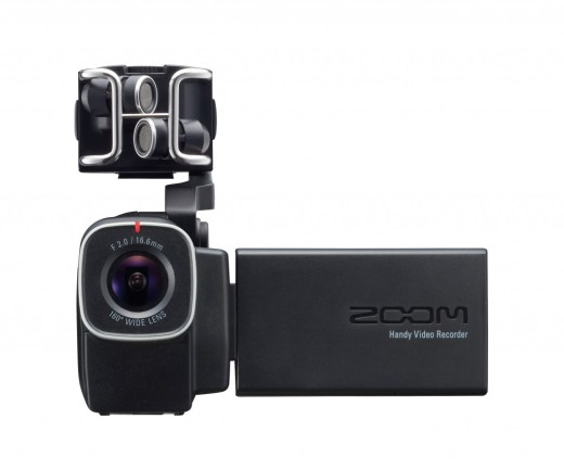 Zoom Q8 : caméra et enregistreur multipiste intégré
