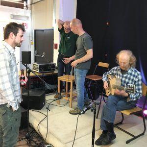 Concert à l'IFAPME de Limal : le soundcheck