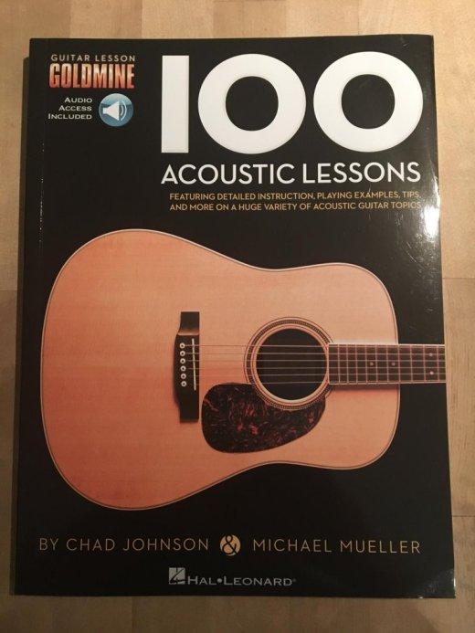 Pour prendre une bonne leçon : 100 Acoustic Lessons