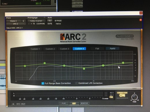 IK Multimedia ARC 2.5 : correction