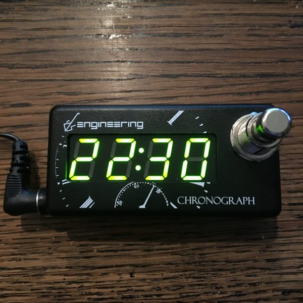 DS Engineering Chronograph horloge pour pedalboard