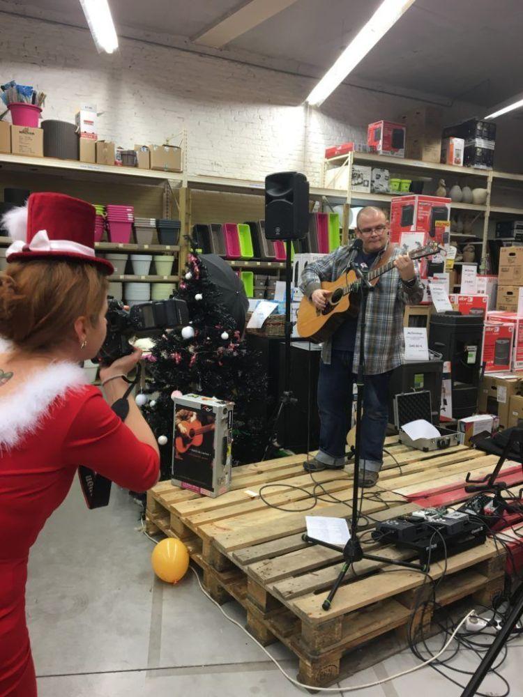 Marché de Noël des Artisans au Mr Bricolage Grétry (Liège)