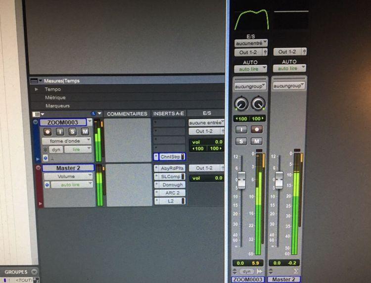Pro Tools 12 : indicateurs de niveau améliorés