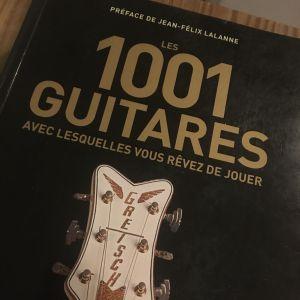 1001 guitares avec lesquelles vous rêvez de jouer