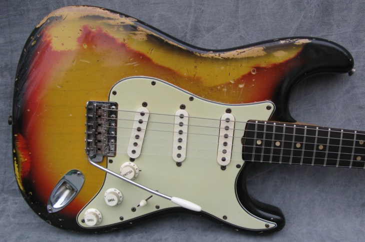 How to Relic a Guitar