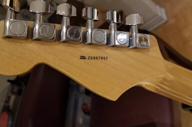 Fender Serial Numbers