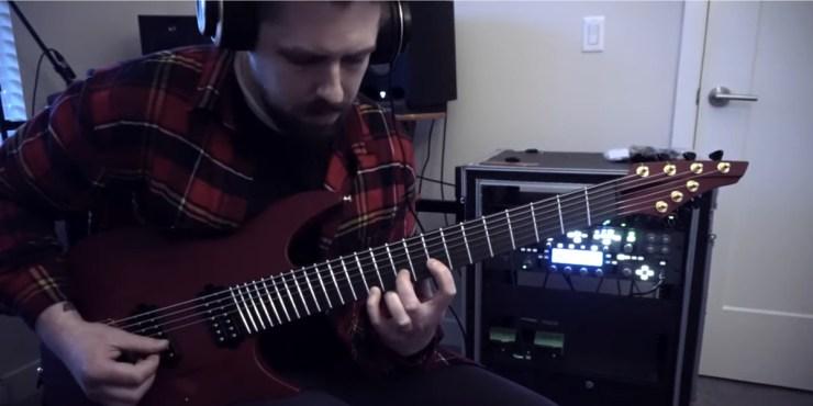 Mike Stringer Guitar Play Through