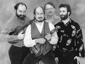 Hillbillies from Mars circa 1985 - L to R: Kevin Carr, Paul Kotapish, Ray Bierl, Daniel Steinberg