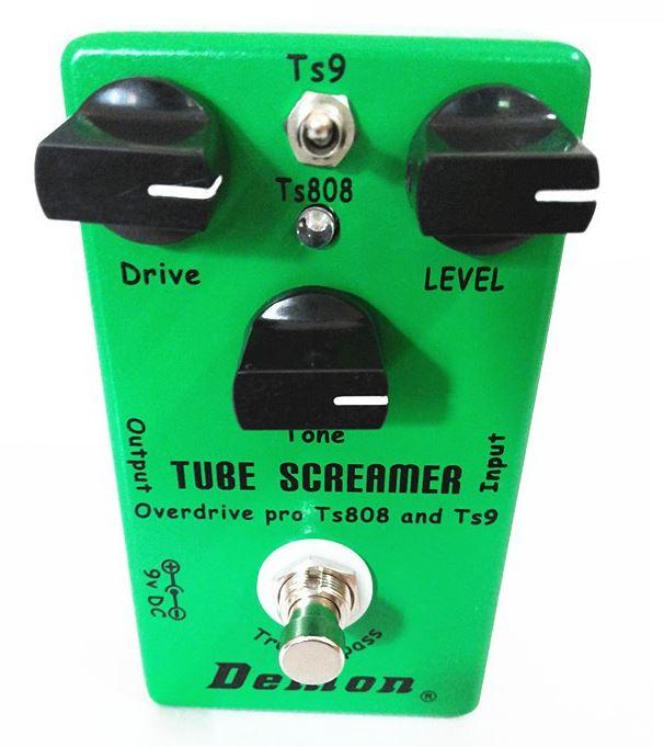 Ibanez Tube Screamer Clone Test