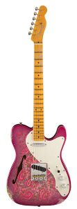Fender Limited Edition Relic '50s Thinline Telecaster – Pink Paisley Front