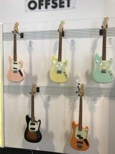 Guitars Offset Series SNAMM2017