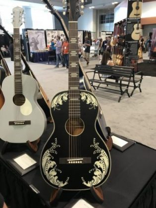 The Music Link Booth SNAMM2017 2