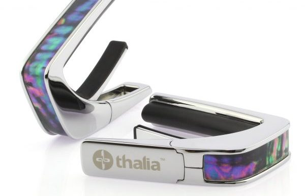 Thalia Capo 200 chrome with black ripple inlay