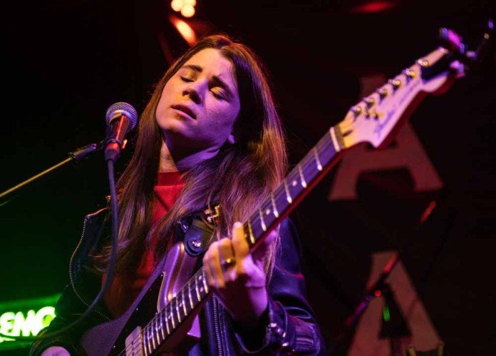 lady lamb performing onstage at the tractor tavern in seattle