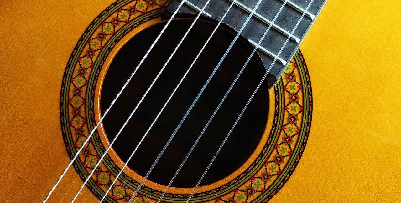 スパニッシュ8スケールを奏でるフラメンコギター