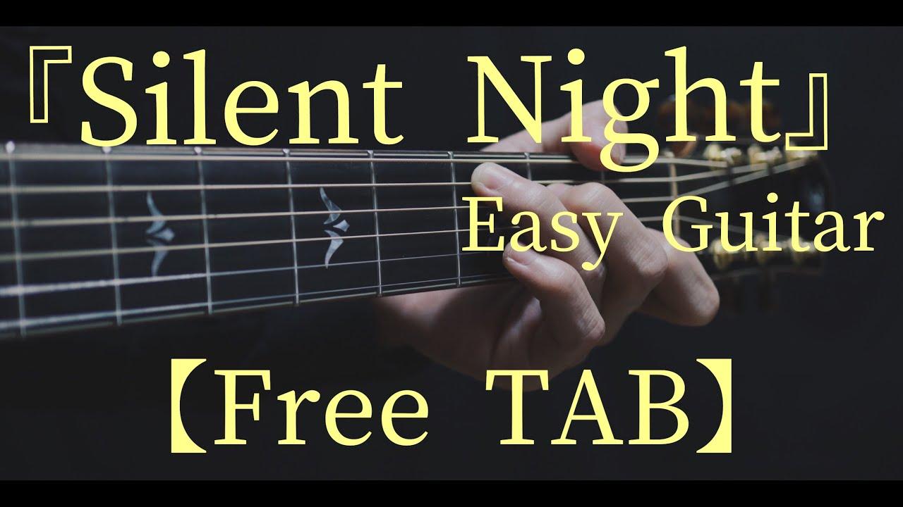 Silent Night Fingerstyle Guitar