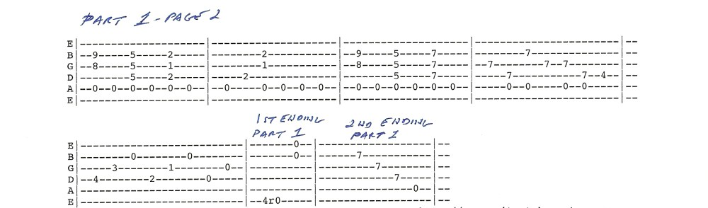 Duane Allman - Little Martha - guitar tablature included (2/6)