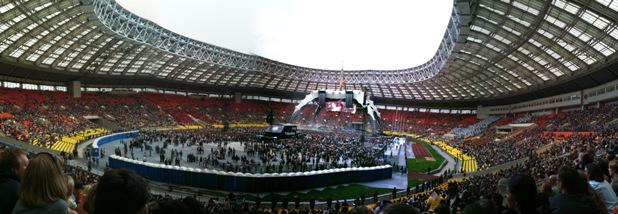 концерт U2 в Лужниках