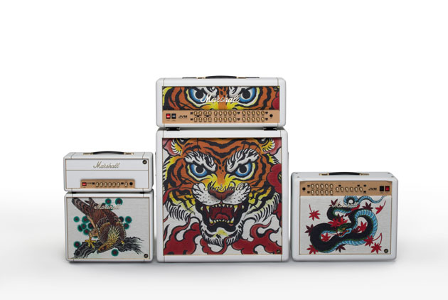 Marshall Custom Shop Tattoo Series рисунок Tutti Serra