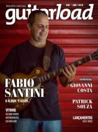 Capa da edição nº 88 da revista Guitarload.