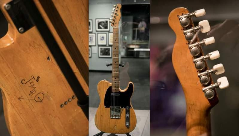 Jimbo, primeira guitarra de SRV