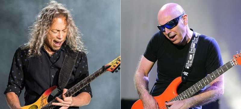Kirl Hammett e Joe Satriani