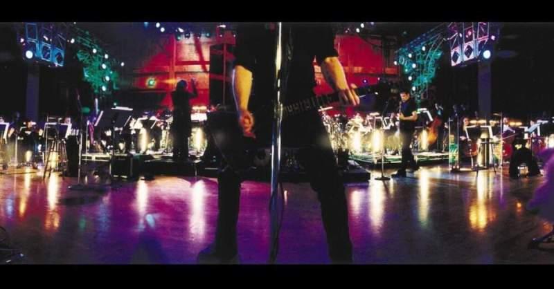 Foto da capa do disco S&M