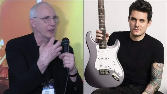Paul Reed Smith ao lado de John Mayer