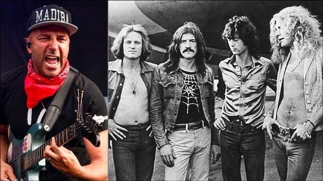 Tom Morello e o Led Zeppelin