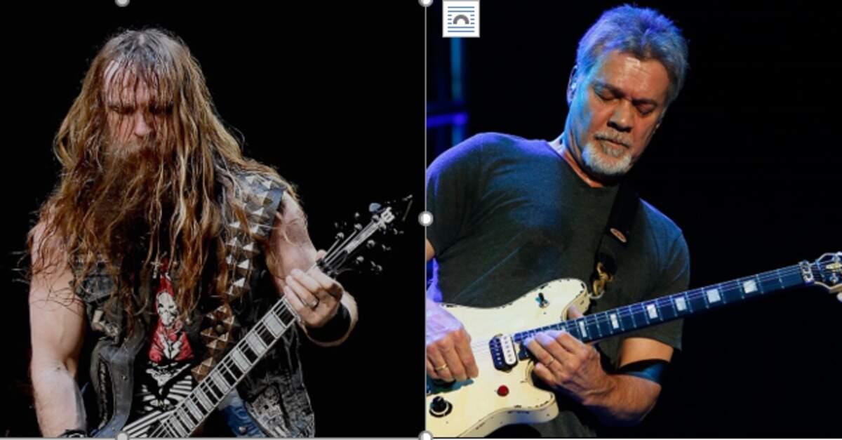 Zakk Wylde e Eddie Van Halen
